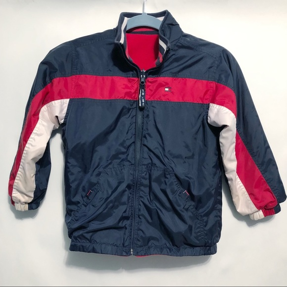 c61a3204b Tommy Hilfiger Jackets & Coats | Vintage Kids Reversible Jacket Coat ...